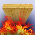Fire resistance of cross-laminated timber panels