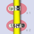 Requirements for clamps for gas pipes
